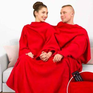 Saint-Valentin : couverture plaid pour 2 personnes | Idées cadeaux insolites originales