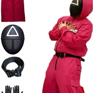 Squid Game : les costumes de la série pour Halloween   Idées cadeaux insolites et originales